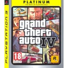 Grand Theft Auto 4 (platinum)