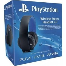 PS4 Sony Wireless Stereo Headset (Black)