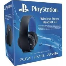 PS4 Sony Wireless Stereo Headset (Black)